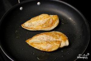 Паста с курицей и овощами - фото шаг 2