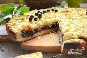 Быстрый пирог с вареньем в духовке - фото шаг 5