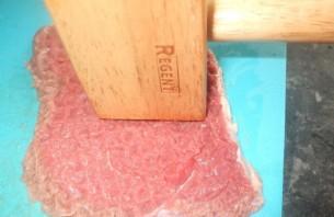 Говядина кусочками в духовке - фото шаг 2