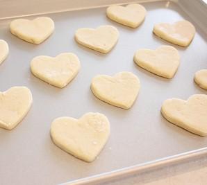 Печенье на 14 февраля - фото шаг 6