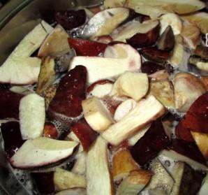 Маринованные белые грибы быстрого приготовления - фото шаг 2