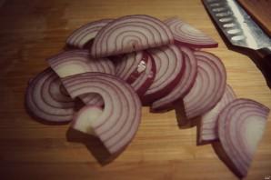 Салат с маринованным имбирем - фото шаг 3
