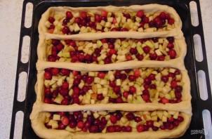 Пирог из пирожкового теста с яблоками - фото шаг 9