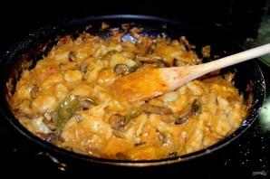 Овощи, тушенные в сметане - фото шаг 5