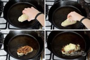 Сэндвич с карамелизированным луком - фото шаг 9