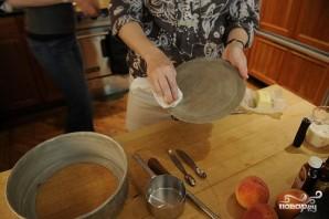 Пирог из персиков - фото шаг 2