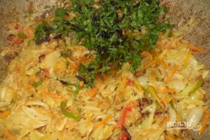 Салат из патиссонов - фото шаг 5