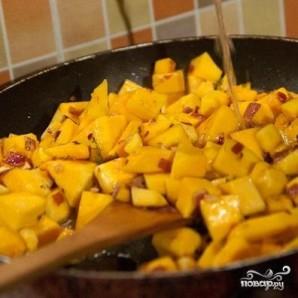 Тальятелле с соусом из мускатной тыквы - фото шаг 3