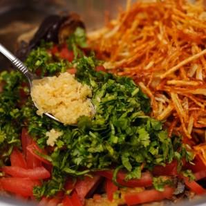 Салат из баклажанов - фото шаг 4
