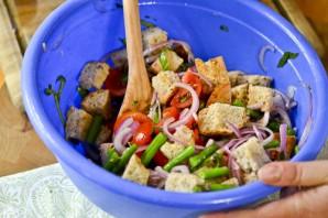 Салат с семгой на Новый Год - фото шаг 5