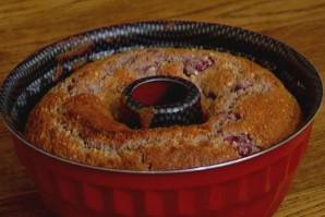 Миндальный пирог с вишней - фото шаг 3