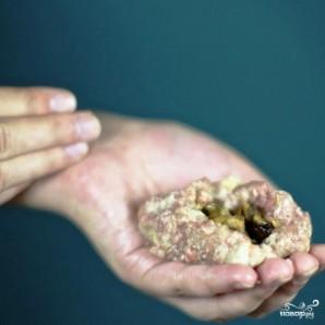 Котлеты, фаршированные грибами - фото шаг 16