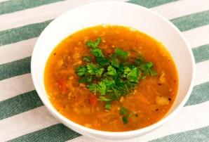 Суп из чечевицы с беконом - фото шаг 5