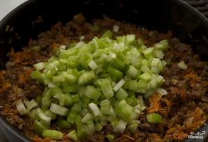 Лазанья с фаршем и овощами - фото шаг 3