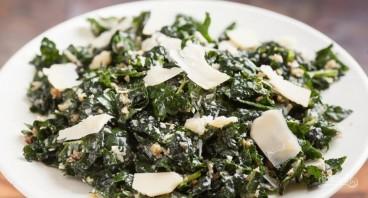 Салат с пармезаном - фото шаг 7