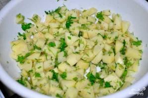 Вегетарианские вак беляши - фото шаг 4