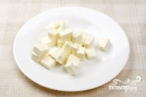Салат с оливками - фото шаг 2