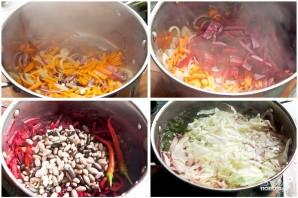 Овощной борщ - фото шаг 4