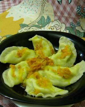 Вареники с сыром и зеленью - фото шаг 4