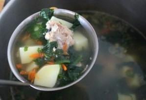 Суп из консервы с рисом - фото шаг 5