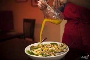 Салат с мандаринами - фото шаг 8