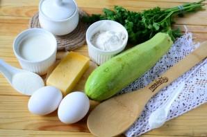 Маффины с кабачком и сыром - фото шаг 1