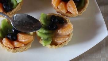 Корзиночки с фруктами и желе - фото шаг 9