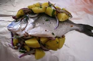Рыба в фольге в аэрогриле - фото шаг 4