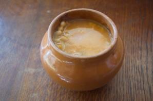 Чанахи с фасолью и грибами - фото шаг 8
