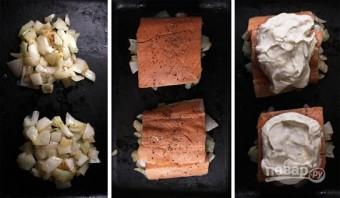 Рыба под сметаной - фото шаг 2