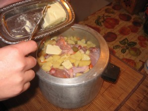 Курица с картошкой в скороварке - фото шаг 11