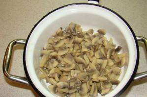 Салат грибной - фото шаг 3