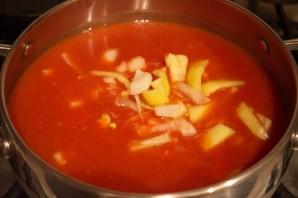Кетчуп с луком на зиму - фото шаг 4