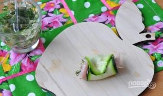 Нежные рулетики из кабачков с куриным филе - фото шаг 5