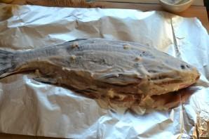 Рыба, запеченная под соусом в духовке - фото шаг 4