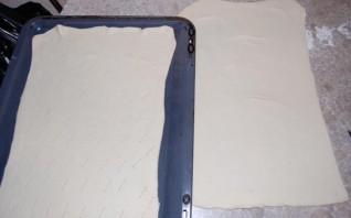Закусочный торт из слоеного теста - фото шаг 1