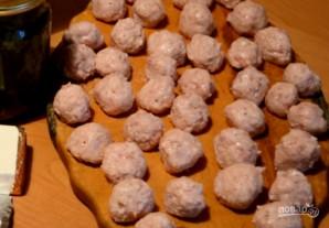 Щавелевый супчик с фрикадельками и плавленым сыром - фото шаг 2