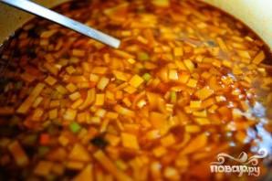 Итальянский суп с фрикадельками - фото шаг 14