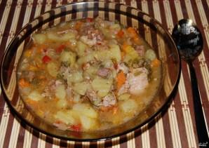 Тушеная картошка с тушенкой - фото шаг 7