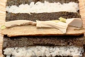 Футомаки с омлетом и шиитаке - фото шаг 9