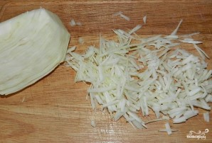 Крабовый салат с капустой - фото шаг 5