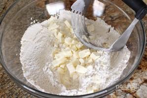 Закусочные сырные печенюшки - фото шаг 1