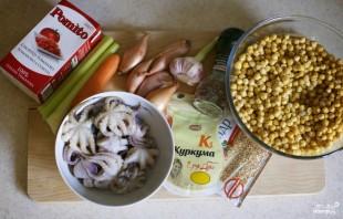Суп из осьминога - фото шаг 1