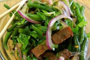 Салат с языком говяжьим - фото шаг 7