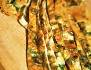 Салат с омлетом и курицей - фото шаг 4
