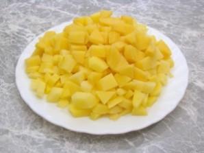 Утка, фаршированная грибами и картофелем - фото шаг 6