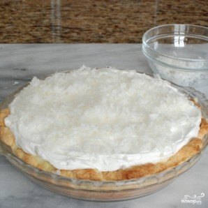 Кокосовый кремовый пирог - фото шаг 12