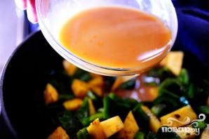 Фрикадельки с болгарским перцем и ананасами - фото шаг 4