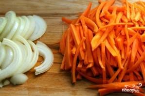 Суп с зеленой фасолью - фото шаг 2