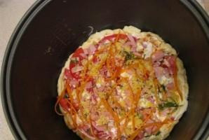 Пицца в мультиварке - фото шаг 5